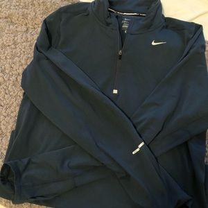 Dark Blue Nike Mens Small Half Zip